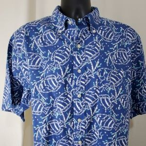 VINEYARD VINES Blue Murray Shirt Size XL